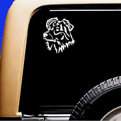 Australian Shepherd Dog Aussie Vinyl Car Decal RV Sticker - Original Design