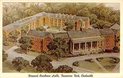 Cookeville Tennessee Tech Womens Residence Hall Vintage Postcard K52727
