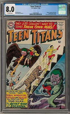 Teen Titans #1 CGC 8.0 (OW) Nick Cardy Cover & Art