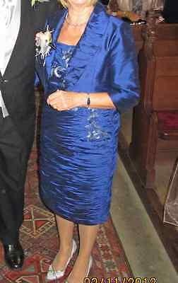 Condici Beautiful Mother Of The Bride Dress, In Midnight Colour Size 10 & Jacket