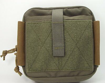 "MSM / TACTICAL TAILOR Organizer Pouch + TWO 5"" Malice Clips / RANGER GREEN"
