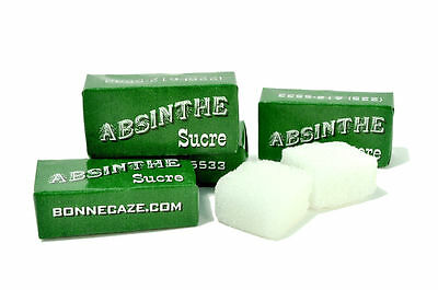 200 Wrapped Absinthe Sugar Cubes (100 Packets)
