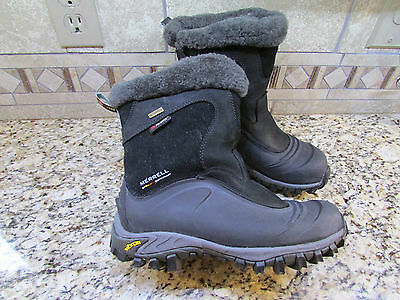 b49ea91148fc7 Merrell Winter Boots Womens 7.5 Waterproof Insulated Snow Boots Thermal  Juneau