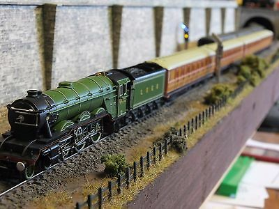 2S-011-001 Dcc Sound Dapol A1 Flying Scotsman 4472 Lner Apple Green Train Pack