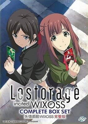 LOSTORAGE INCITED WIXOSS | Episodes 01-12 | English Subs | 1 DVD (VS0044)-LU