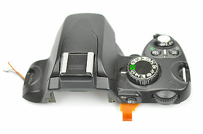 Nikon D60 Top Cover With Flash Shutter Dial Replacement Repair Part DH3597