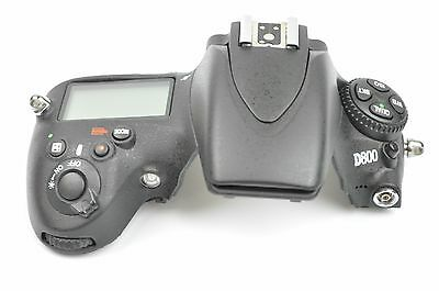 NIKON D800 Top Cover with LCD Screen REPLACEMENT REPAIR PART EH2355
