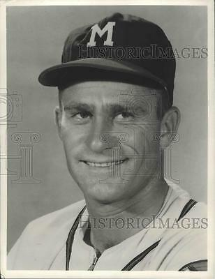 1958 Press Photo Lew Burdette Ace Pitcher for Milwaukee Braves - spx11710