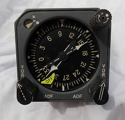 727  737 Airliner Gyro Compass Heading Indicator Gauge Instrument , NICE