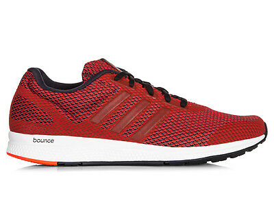 Adidas Men's Mana Bounce Running Shoe - Scarlet Red/Core Black/Solar Red