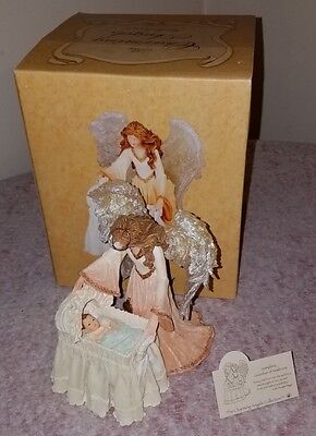 Boyds Charming Angels Josephina Guardian of Newborns 2nd Edition NEW Retired
