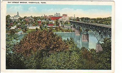 1920's The Gay Street Bridge in Knoxville, TN Tennessee PC