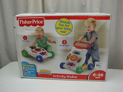 Baby Bright Beginnings Pushing Activity Walker Infant  Learning Center Toddler