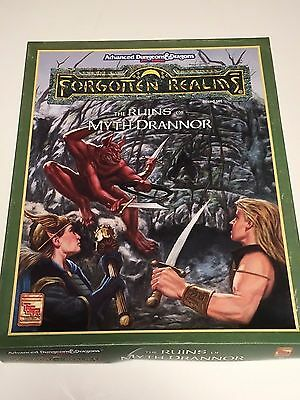 The Ruins of Myth Drannor - Boxed Set - Forgotten Realms - AD&D 2nd Edition