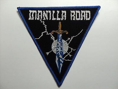 """Manilla Road """"Invasion"""" Patch  WOVEN PATCH"""