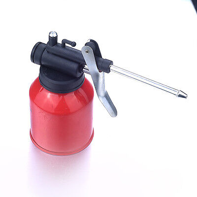 Small High-Pressure Pump Feed Oil Can Gun with  Nozzle -Shoot Oil 250ml