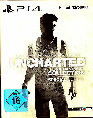 Uncharted 1,2,3 The Nathan Drake Collection PS4 Spiel Special Edition