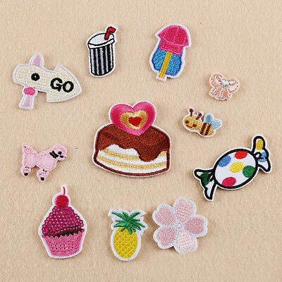 Embroidered Sew Iron on Patch Badge Candy Cake Dress Bag Applique DIY
