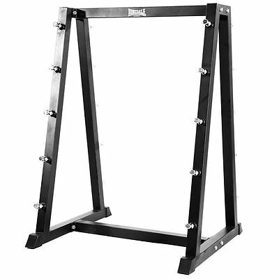 Lonsdale Barbell Rack Training Exercising Home Gym Equipment