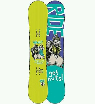 Ride DH2.6 GET NUTS Limited Edition Rare Snowboard