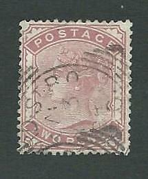 1880. QUEEN VICTORIA. 2d PALE ROSE, FINE USED STAMP.  SG.No.168