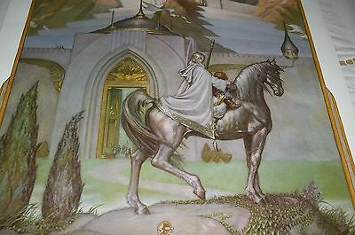 Set of 5 Original Vintage 1976 HICKMAN Lord of the Rings~ LITHO Posters MINT LOT