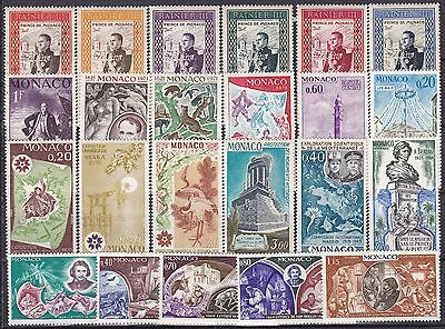 Monaco Commemoratives (10B) Mint Never Hinged