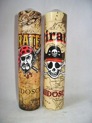 New Pirate Kaleidoscope Tube Toy Crazy Colourful Patterns Pirates Skull Ack