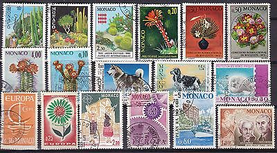 Monaco Commemoratives (17B) Used