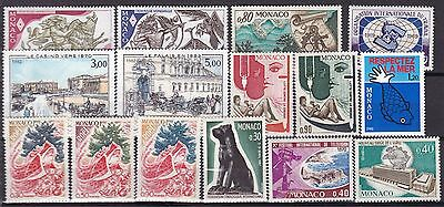 Monaco Commemoratives (18B) Mint Never Hinged