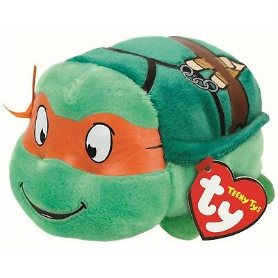 Ty Beanie Babies 42172 Teeny Tys Michelangelo Teenage Mutant Ninja Turtles