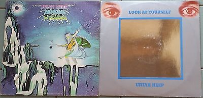 ♫ URIAH HEEP 2 classic albums Look at Yourself & Demons and Wizards ♫