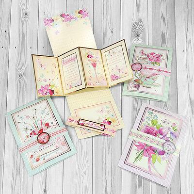 """Hunkydory Twist """"n"""" Pop Card Making Collection ~ Die Cut & Silver/Gold Foiled"""