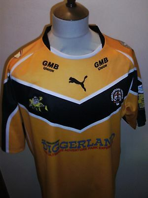 Castleford Tigers Rugby League Shirt Size Large