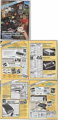 1982 Dick Smith Electronics Catalogue, Australia - Vic 20 Computer, CB Radio etc