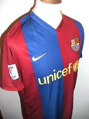 Barcelona Football Shirt Size Large