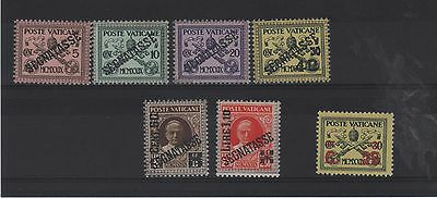 Vatican -1931 Postage Due   Fresh Mnh - Cat £10