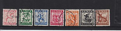 L23U Great Britain Lundy Island Puffin Stamp Selection