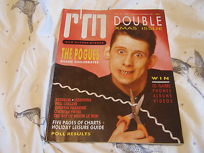 Record Mirror - 21/12/85, The Pogues / Review Of 1985 / Madonna / Phil Collins