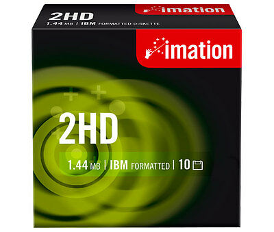 IMATION Disketten 1.44MB 8,89cm (3.5) HD-MF2 DOS
