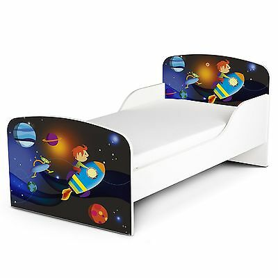 Space Rocket Mdf Toddler Bed New Outer Space Kids