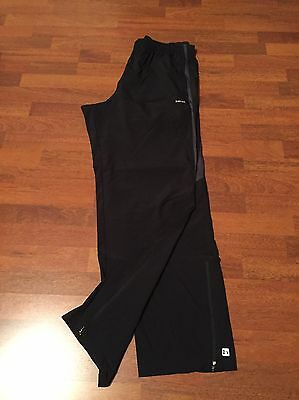 Track Bottoms, Hind, Black, Size XL, New