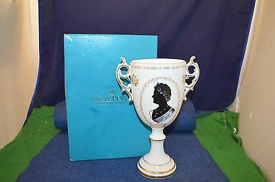 Lovely Rare Coalport The Queen Mother 1900-1980 80th Birthday Chalice RD6650