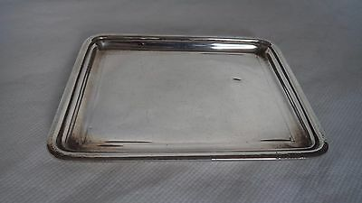 Mappin & Webb 1922 Sterling / Solid Silver Trinket / Jewellery Dish / Tray