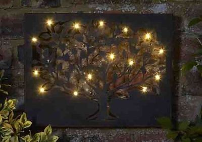 Tree of Life Wall Art with LED Lighting and Timer