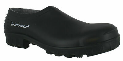 Mens / Womens Dunlop Low Cut Green Slip On Gardening Wellies Shoes Sizes 4 to 12