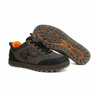 Fox NEW Chunk Camo Boots All Weather Waterproof Trainers Shoes *All Sizes*