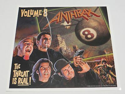 Anthrax  Volume 8 The Threat Is Real!  8.5 x 8.5 inch Sticker