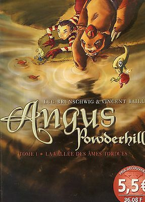 ANGUS POWDERHILL - Tome 1- VALLEE DES AMES TORDUES L.BRUNSCHWIG- V.BAILLY 2001