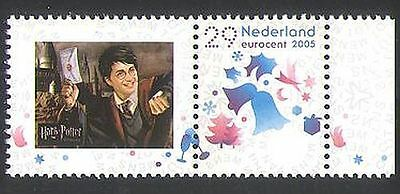 Netherlands 2005 Christmas/Greetings/Personalized/Harry Potter/Books 1v (n35553)